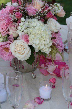 Wedding, Flowers, Reception, Pink, Centerpiece - Project Wedding