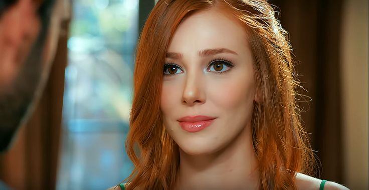 Turkish actress Elçin Sangu's makeup from the Turkish tv series 'Kiralık Aşk'