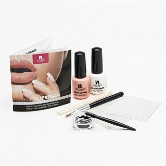 FOREVER FRENCH NAIL ART KIT Add a creative twist at home to your classic French Manicure with the Forever French Nail Art Kit.