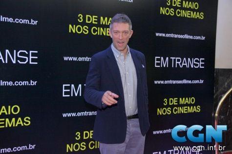 Famosos na pre estreia do filme Em Transe, no Cine Leblon - CGN ...