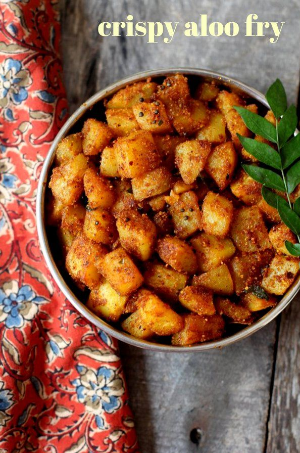 How to make potato fry indian style