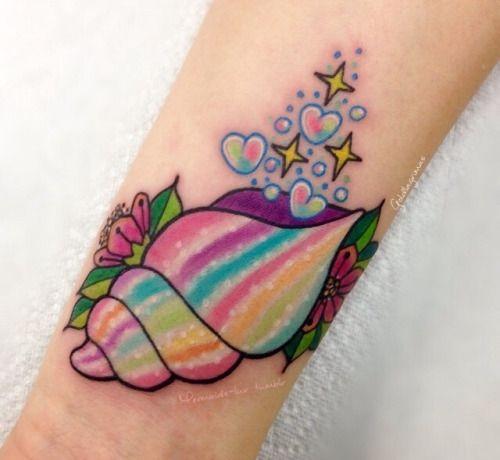 """mermaids-luv: """" Mermaids and tropical tattoos blog """""""