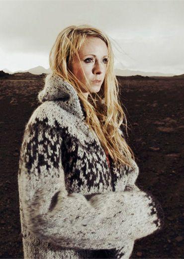 icelandic sweater by Rebekka Guðleifsdóttir Thats my kinda style love the big icelandic sweaters <3 <3 <3 :) IT!