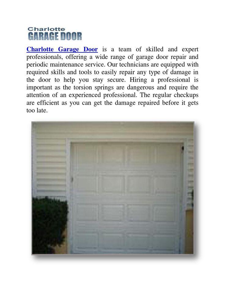 Best 25 garage door replacement ideas on pinterest new for Garage doors charlotte nc