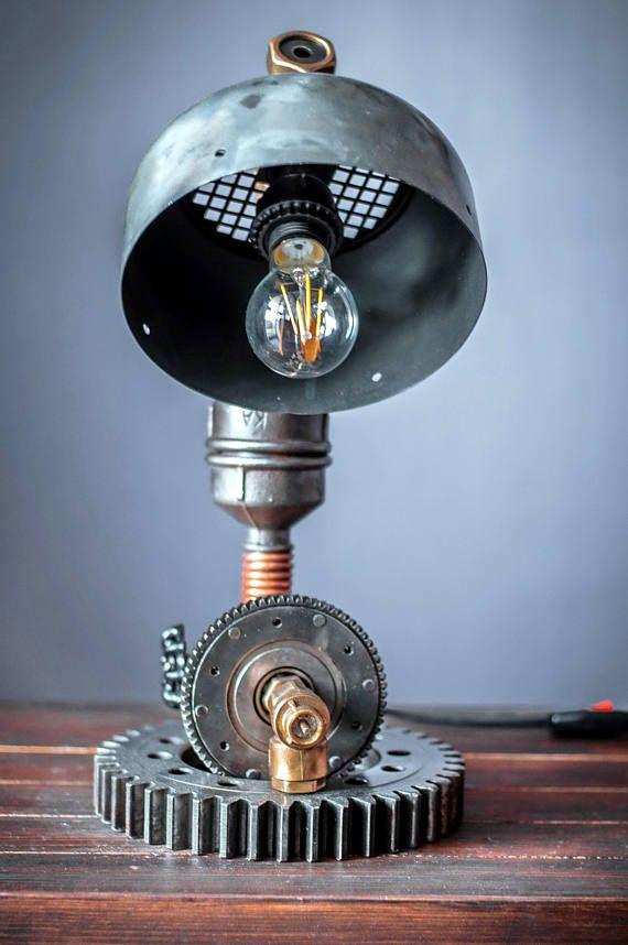 Loft lamp Pipe lamp Industrial lighting Steampunk lamp