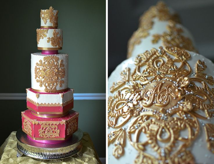 modern indian wedding sugar realm fine bakery cake design