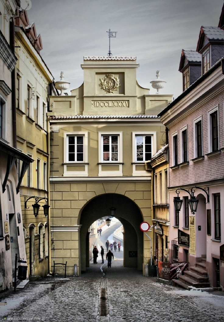 cityscapes polish town poland monument historical tourism lublin