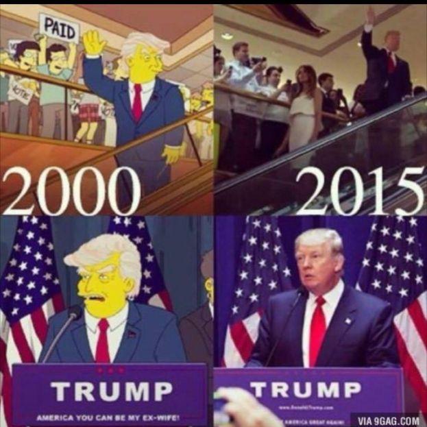 """""""Simpsonowie"""" przewidzieli zwycięstwo Trumpa... 16 lat temu! http://www.pudelek.pl/artykul/100368/simpsonowie_przewidzieli_zwyciestwo_trumpa_16_lat_temu/"""