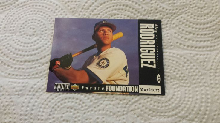 1994 Collector's Choice Alex Rodriguez single baseball rookie card