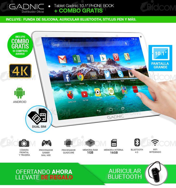 Tablet PC Gadnic Dual Sim Celular + 3G + GPS