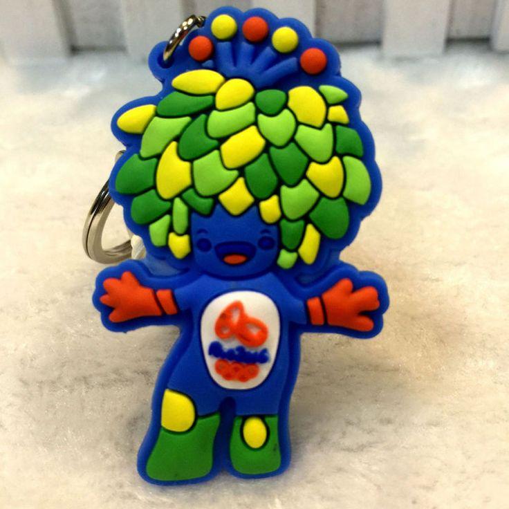 2016 Brazil Rio Olympic Games Mascot Vinicius PVC Key Chain Key Rings S3  | eBay