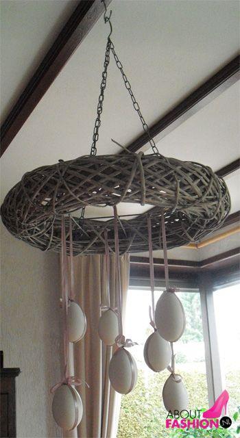 plafondhanger met eieren