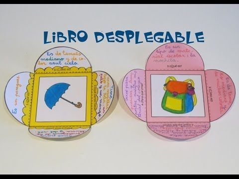 Escritura Creativa: Libro desplegable - YouTube