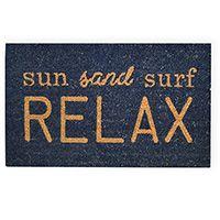 Madras Link Sun Surf Doormat
