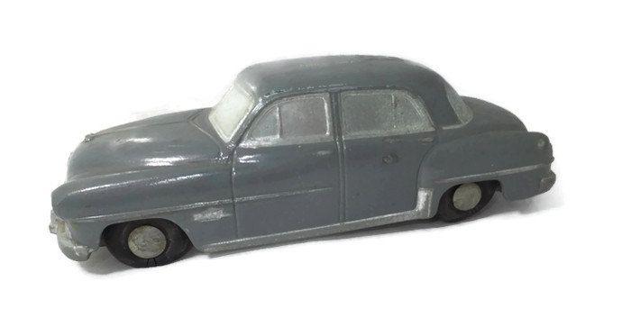 Dodge Coronet - Slush Mold Promo Car, Advertising, Banthrico Still Bank, Stamped Poilu Gray by Duckwells on Etsy