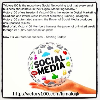 Join Victory100 and get success in business and extra cashflow for referring!