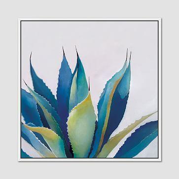 Minted for west elm - Blue Agave #westelm