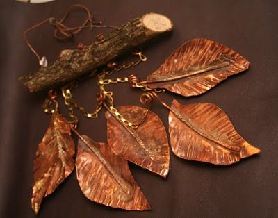 the Silver Strumpet™: Autumn Leaves Wind Chimes
