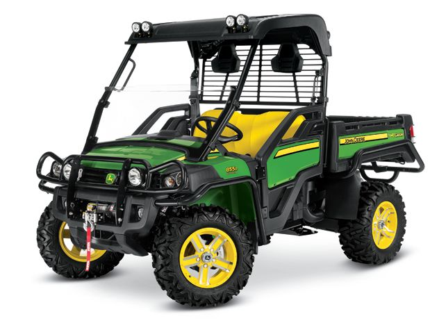 John Deere 855D Crossover Utility Vehicles Gator Utility Vehicles JohnDeere.com