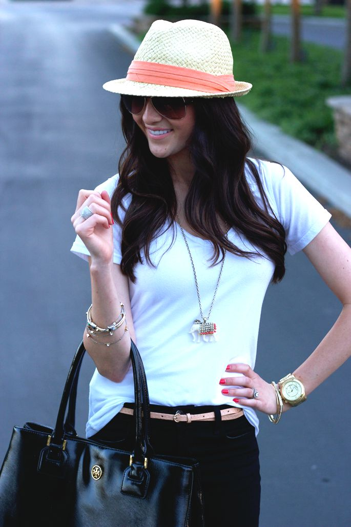 hats hats hats: Fashion, Casual Outfit, Classy Style, Clothing, Closets, Casual Looks, Black Jeans, Accessories, Beautiful Length