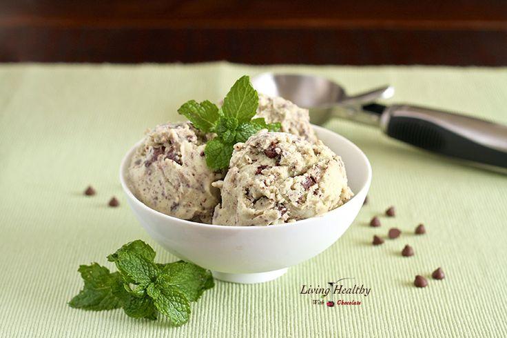 Paleo style choc chip ice cream!