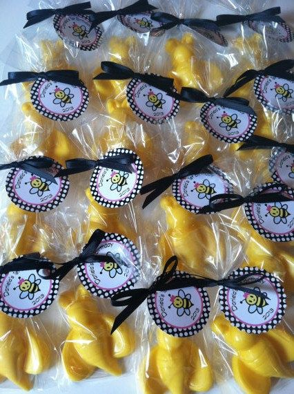 Chocolate Bumble Bees Bee Party Favor Mommy