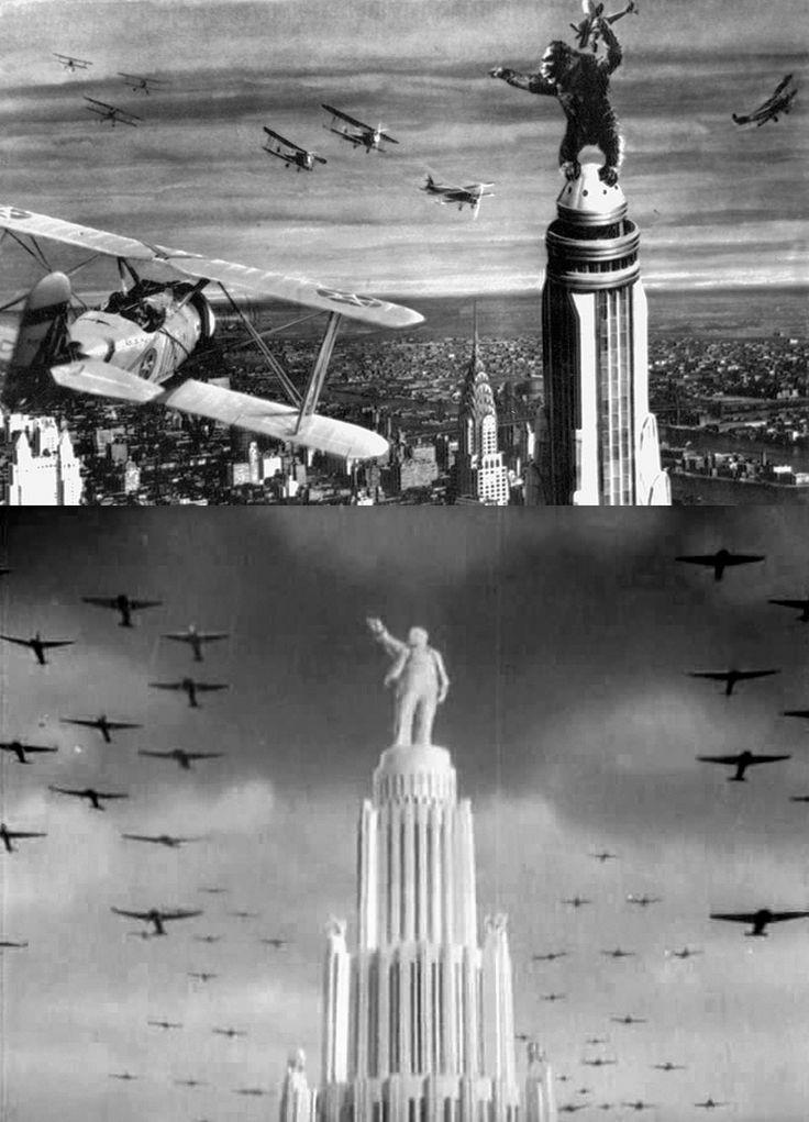 """""""Кинг Конг"""" (1933) vs """"Новая Москва"""" (1938)"""