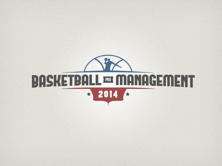 Basketball Pro Management 2014 Logo by Thibault Rouquet #logo #design