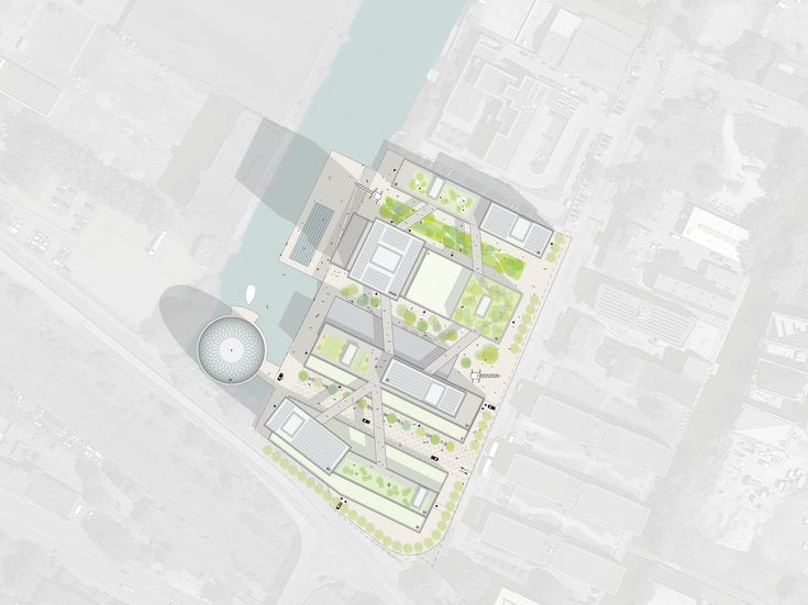 Gallery of MVRDV Wins Competition to Masterplan New Innovation Port in Hamburg - 2