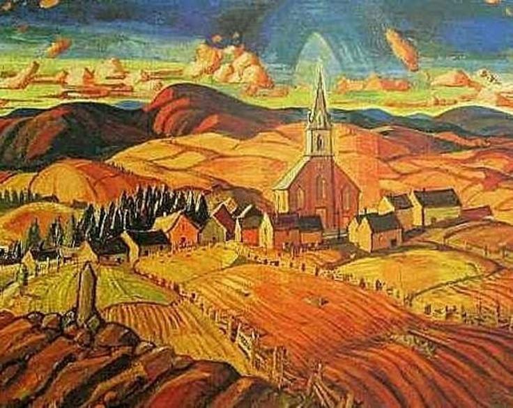 Arthur Lismer - Village Church