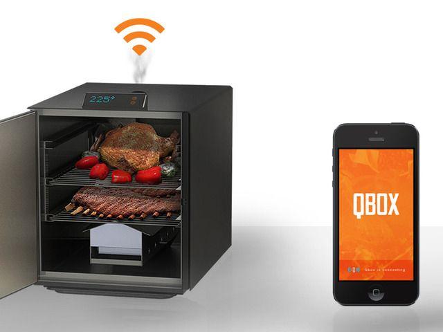 Qbox: The Wi-Fi connected BBQ Smoker by Qbox — Kickstarter