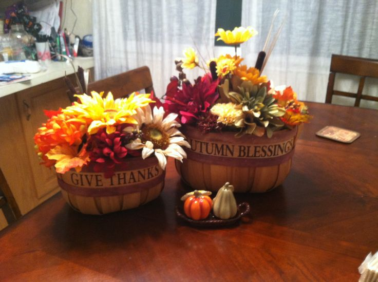 47 Best Images About Fall Decor Using Bushel Baskets On