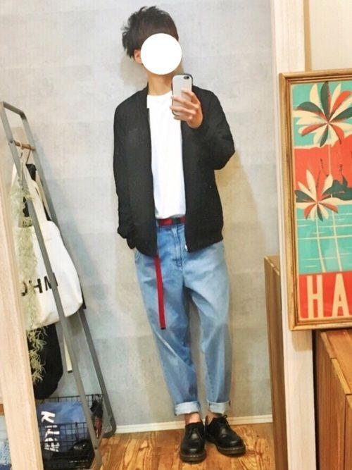 フリークスストアさんの リバーシブルスカジャンで春コーデ(^^)🌸 Instagram⇨@gak