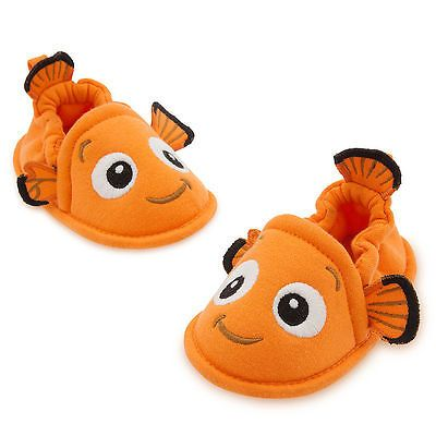 Disney Store Authentic Finding Nemo Baby Costume Shoes Size 6 12 18 24 Months