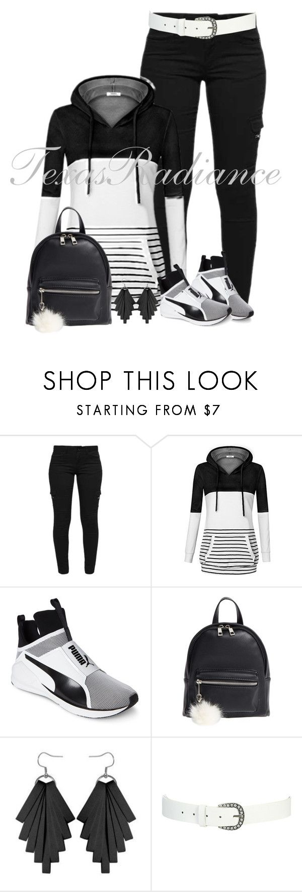 """Drake-Hot Line Bling"" by texasradiance ❤ liked on Polyvore featuring Puma, BP. and Wet Seal"