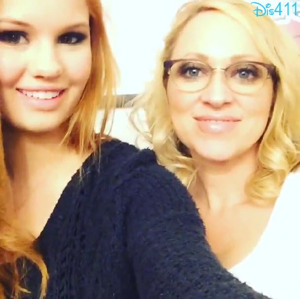 Video: Debby Ryan And Leigh-Allyn Baker Wish Bridgit Mendler A Happy Birthday December 18, 2013