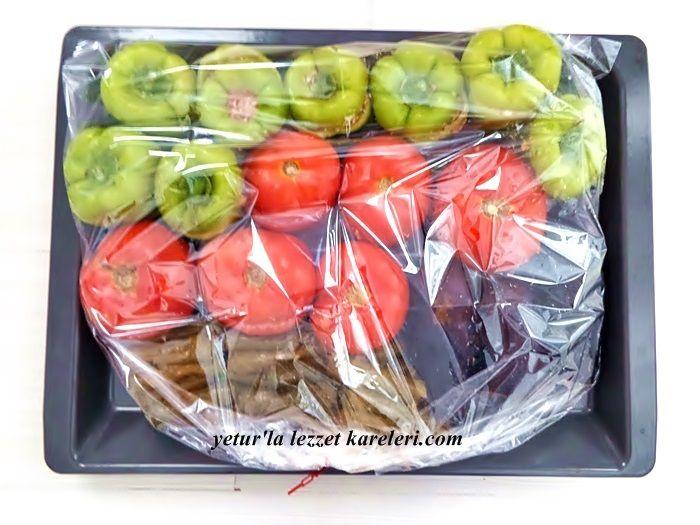 yetur'la lezzet kareleri: fırın torbasında nakışlı dolma