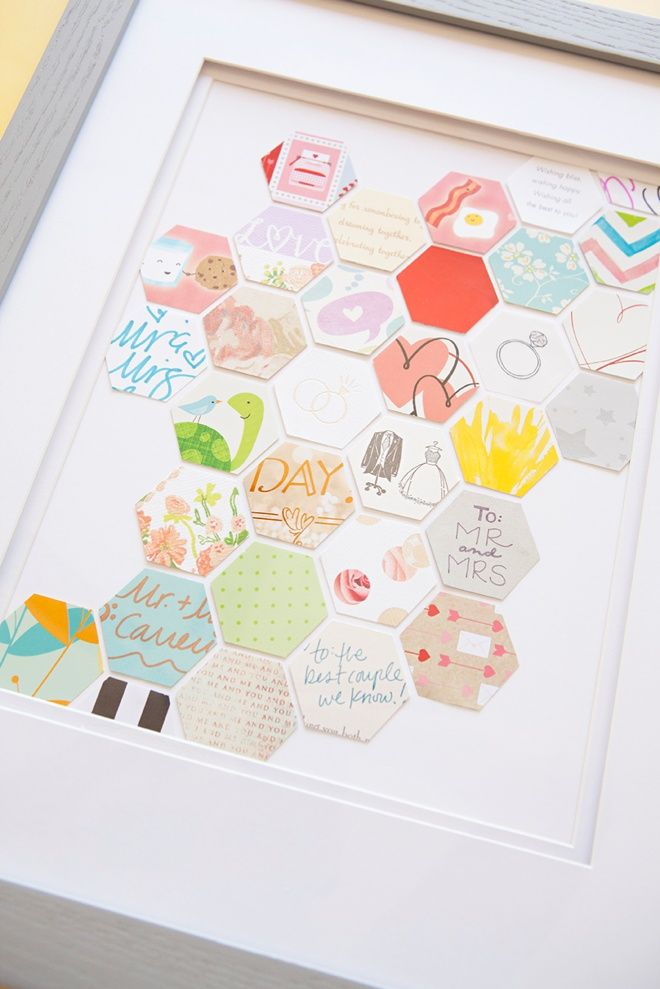Awesome DIY Keepsake idea for saving your wedding cards!: