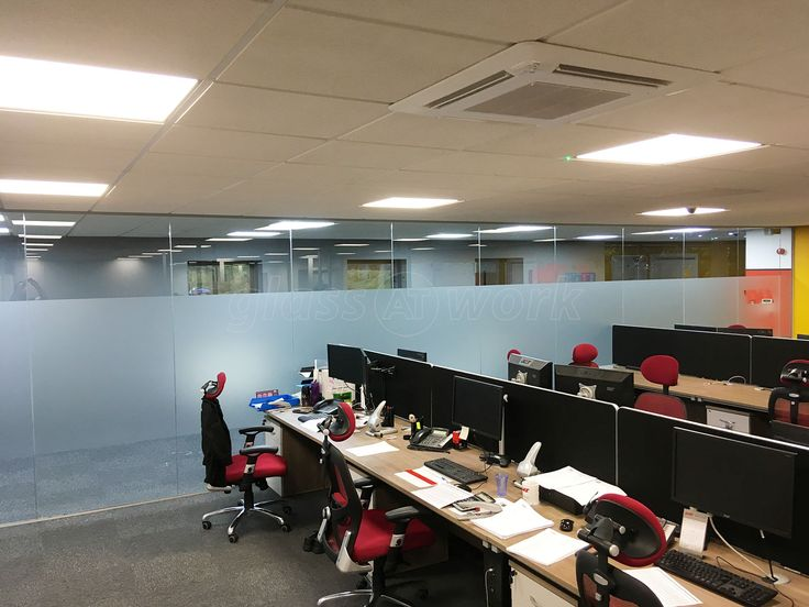 From Glass At Work: Glass Partition Interior Office Wall for LNS Turbo UK Ltd in Barnsley, South Yorkshire.