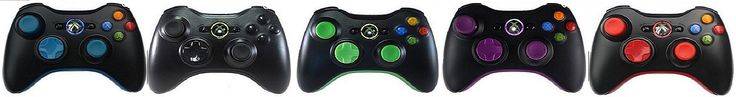Modded Controllers Xbox 360 Color  Controllers