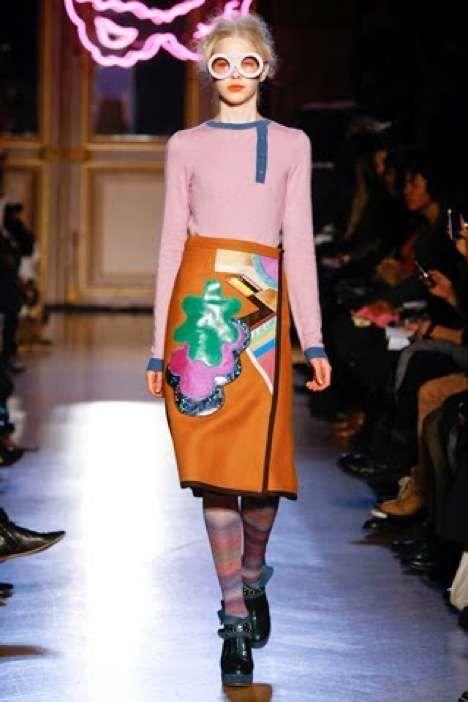 Disco Fun Prevails in the Tsumori Chisato Fall 2011 Collection #fashion