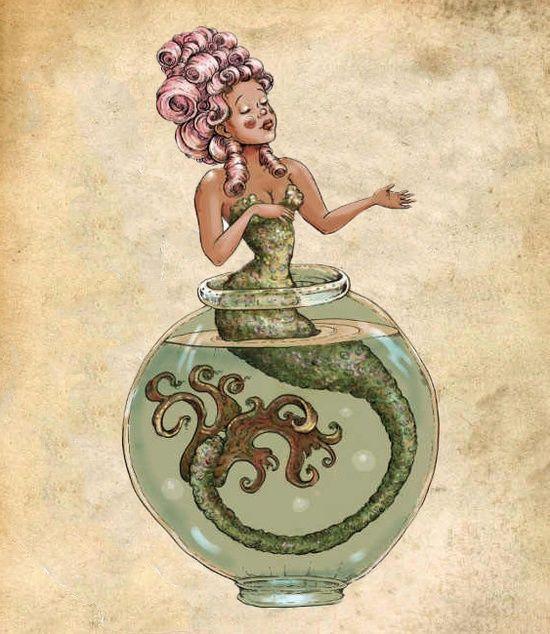 La Sirene by Molly Crabapple