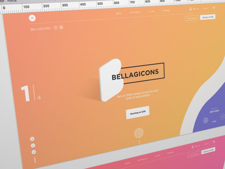 Bellagicons - Huge Icons Set by Barthelemy Chalvet