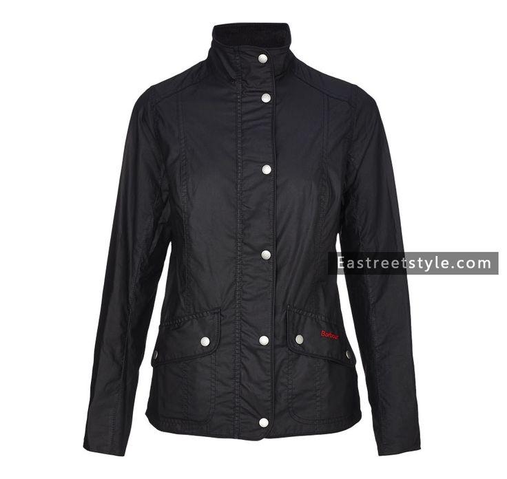 Women Barbour Ferndown Waxed Jacket at www.eastreetstyle.com #Barbour Jackets Sale