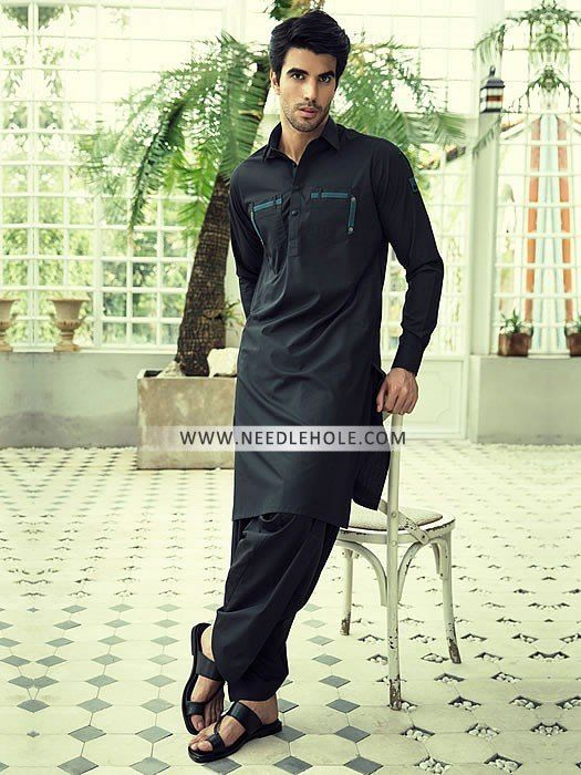 Double pocket shalwar kameez suit for men by dynasty fabrics. Shop branded salwar kameez designs designer double pocket shalwar kameez for eid and ramadan at needlehole