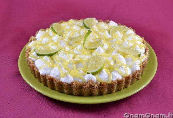 Torta cocco e lime - Gnam Gnam
