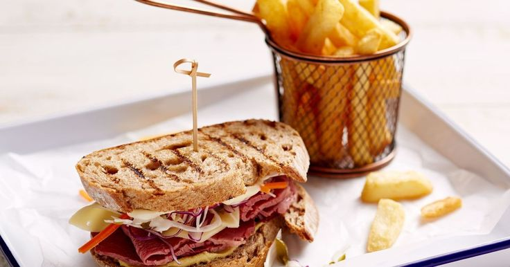 Make beautiful corned beef silverside for dinner or combine it with coleslaw and cheese for a fabulous Reuben sandwich.
