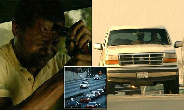 People V OJ Simpson episode recreates slow car chase through LA | Daily Mail Online
