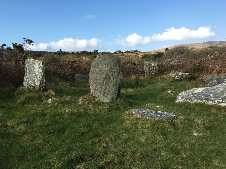 stone circle in West Cork (Sheep's Head)