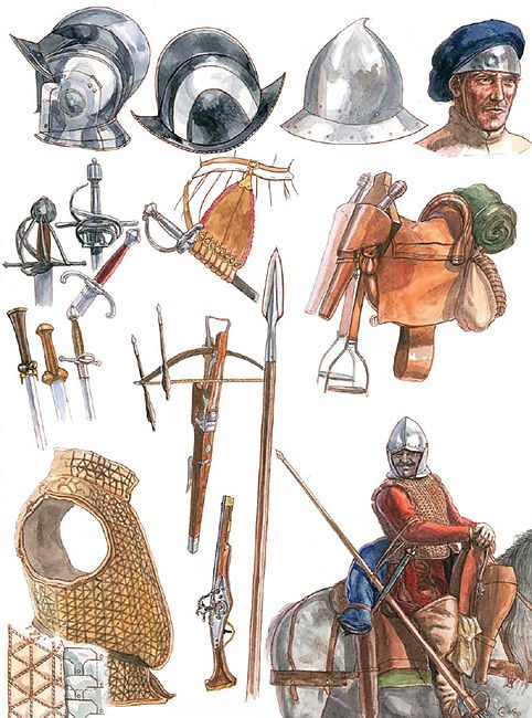 """The Border Reiver's equipment, 16th century""   G & S Embleton"